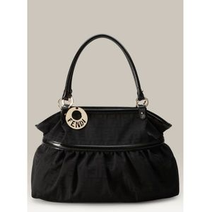 Fendi Chef Zucca tote black shoulder bag
